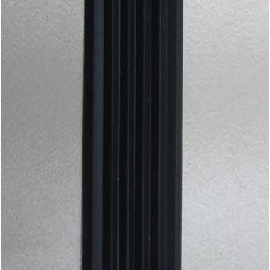 Порог одноуровневый алюминиевый A-11 (Сырой, без покрытия)