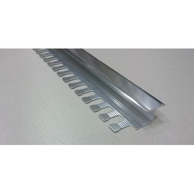 Профиль Z-образный алюминиевый AZT-10 (Серебро матовое)