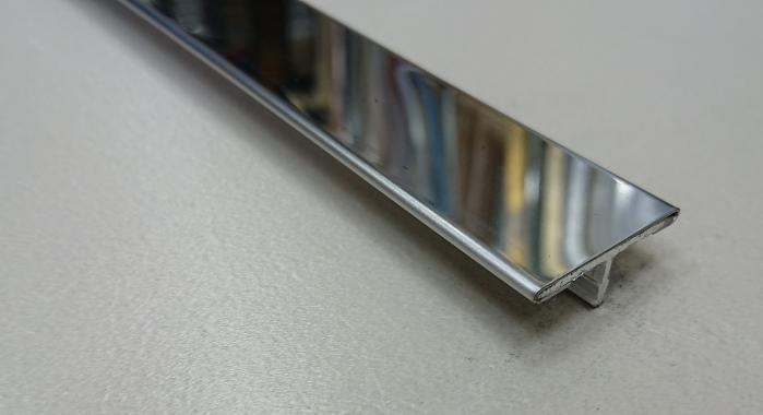 Профиль Т-образный нержавеющая сталь STT-26 (Нержавейка полированная)