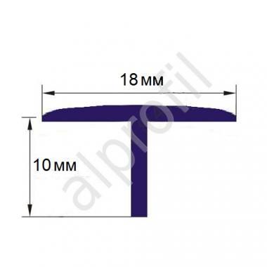 Профиль Т-образный ПВХ Т-18 (Белый)