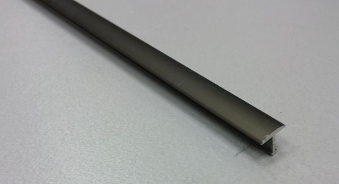 Профиль Т-образный алюминиевый АЛТ-10 (Бронза матовая)