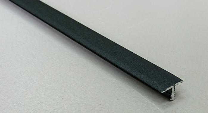 Профиль Т-образный алюминиевый АЛТ-13 (Черный матовый (эмаль)