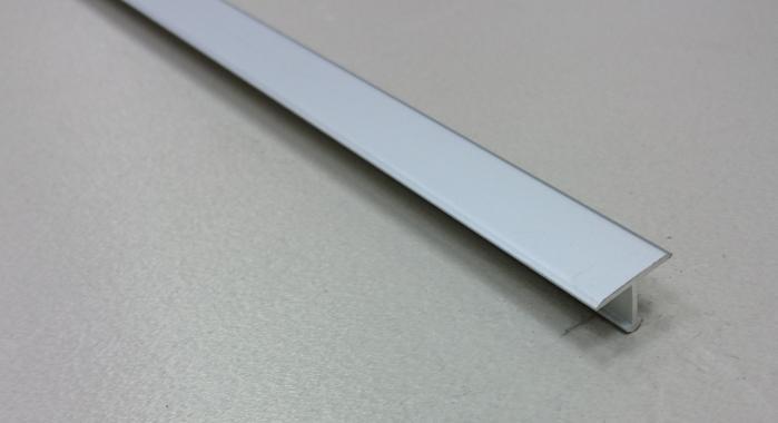 Профиль Т-образный алюминиевый АЛТ-13 (Серебро матовое)