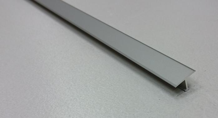 Профиль Т-образный алюминиевый АЛТ-13 (Шампань матовая)
