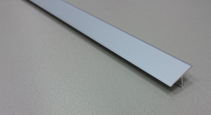 Профиль Т-образный алюминиевый АЛТ-20 (Серебро матовое)