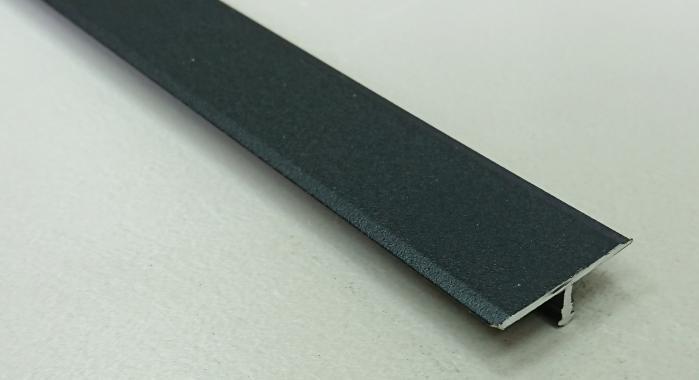 Профиль Т-образный алюминиевый АЛТ-26 (Черный матовый (эмаль)