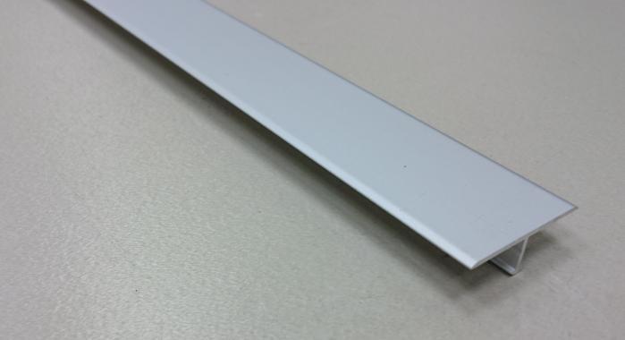 Профиль Т-образный алюминиевый АЛТ-26 (Серебро матовое)