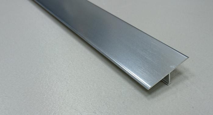 Профиль Т-образный алюминиевый АЛТ-30 (Серебро глянцевое)