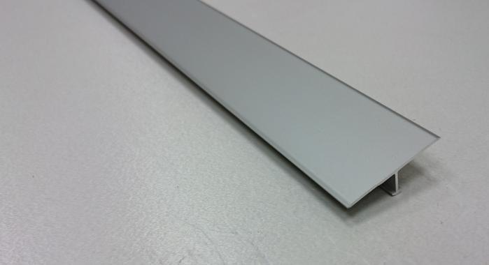 Профиль Т-образный алюминиевый АЛТ-30 (Шампань матовая)