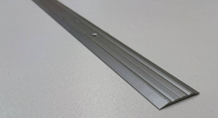 Порог алюминиевый одноуровневый ПА-2 (Шампань матовая)