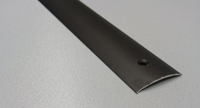 Порог алюминиевый одноуровневый ПА-19 (Бронза матовая)
