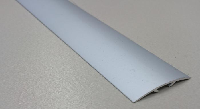 Порог алюминиевый универсальный ПА-17 (Серебро матовое)