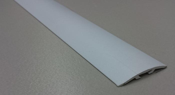 Порог алюминиевый универсальный ПА-37 (Белый матовый (эмаль)