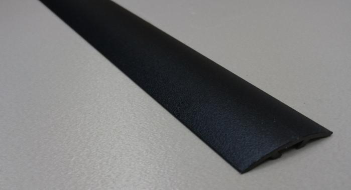 Порог алюминиевый универсальный ПА-37 (Черный матовый (эмаль)