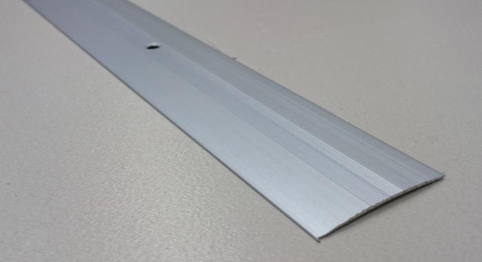 Порог алюминиевый одноуровневый ПА-7 (Серебро матовое)