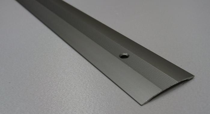 Порог алюминиевый одноуровневый ПА-7 (Шампань матовая)