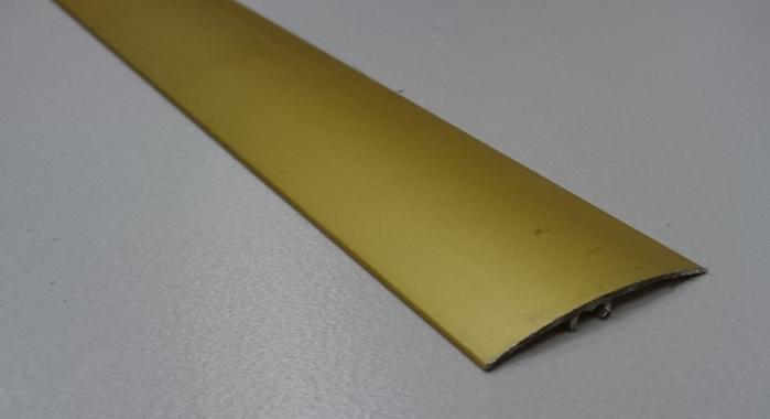 Порог алюминиевый универсальный ПА-37 (Золото матовое)