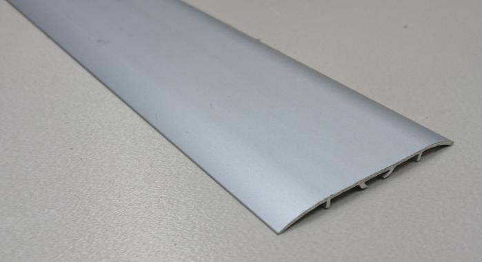 Порог алюминиевый одноуровневый ПА-11 (Серебро матовое)