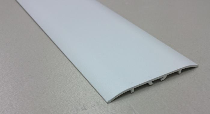 Порог алюминиевый одноуровневый ПА-11 (Белый матовый (эмаль)