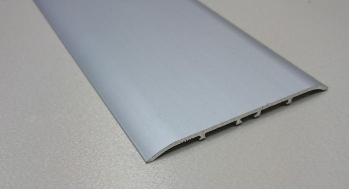 Порог алюминиевый одноуровневый ПА-31 (Серебро матовое)