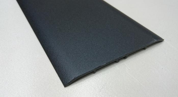 Порог алюминиевый одноуровневый ПА-31 (Черный матовый (эмаль)