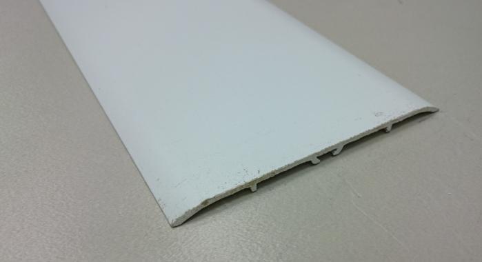 Порог алюминиевый одноуровневый ПА-31 (Белый матовый (эмаль)