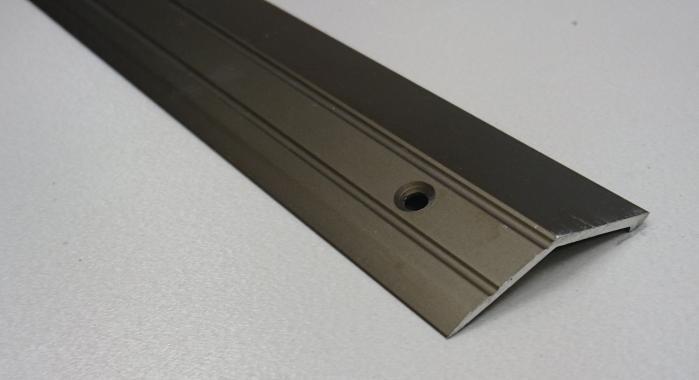 Порог алюминиевый с перепадом ПА-20 (Бронза матовая)