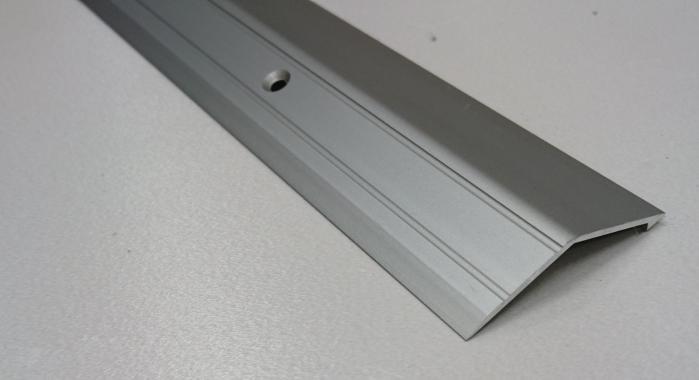 Порог алюминиевый с перепадом ПА-20 (Шампань матовая)