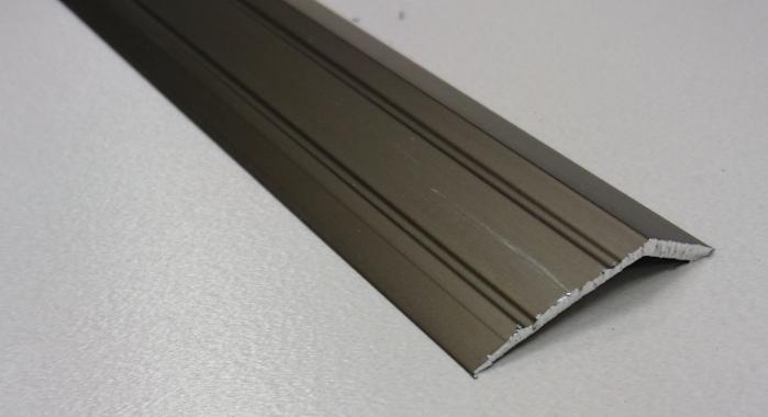 Порог алюминиевый с перепадом ПА-32*10 (Бронза матовая)