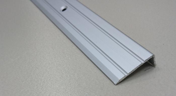 Порог алюминиевый угловой ПА-3 (Серебро матовое)