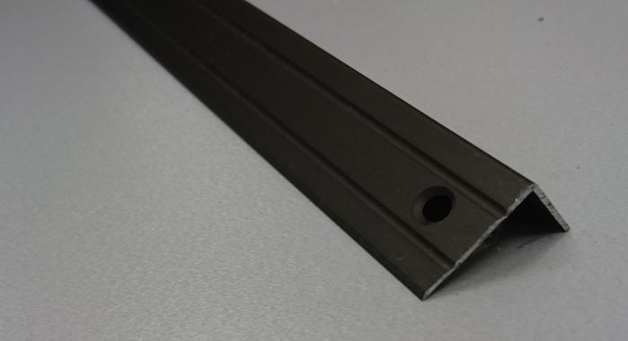 Порог алюминиевый угловой ПА-5 (Бронза матовая)