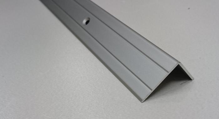 Порог алюминиевый угловой ПА-5 (Шампань матовая)
