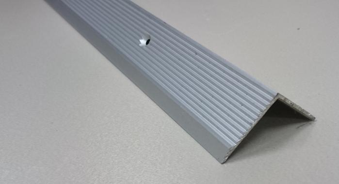 Порог алюминиевый угловой ПА-22 (Серебро матовое)