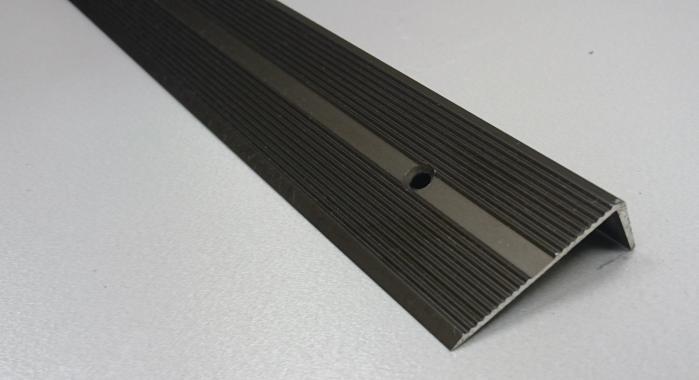 Порог алюминиевый угловой ПА-9 (Бронза матовая)