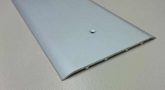 Порог алюминиевый одноуровневый ПА-32 (Серебро матовое)