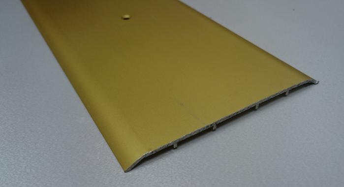 Порог алюминиевый одноуровневый ПА-32 (Золото матовое)