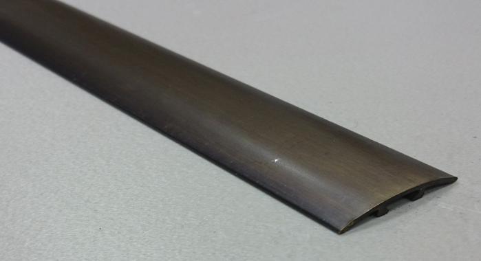 Порог латунный универсальный В-15 (Латунь античная бронза)
