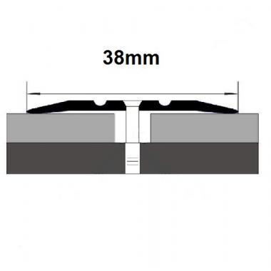 Порог латунный одноуровневый В-30 (Латунь полированная)