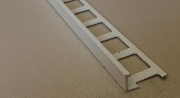 Профиль алюминиевый Г-образный AП-10 (Белый матовый (эмаль)