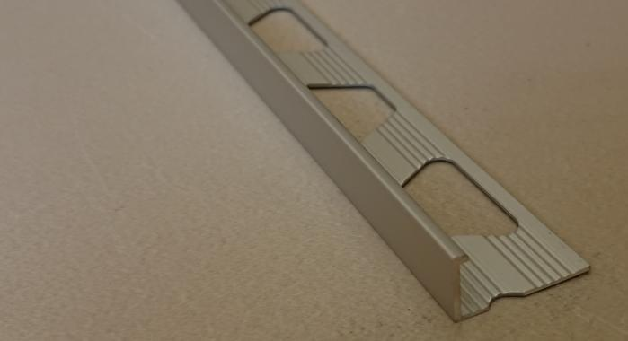 Профиль алюминиевый Г-образный AП-6 (Серебро матовое)
