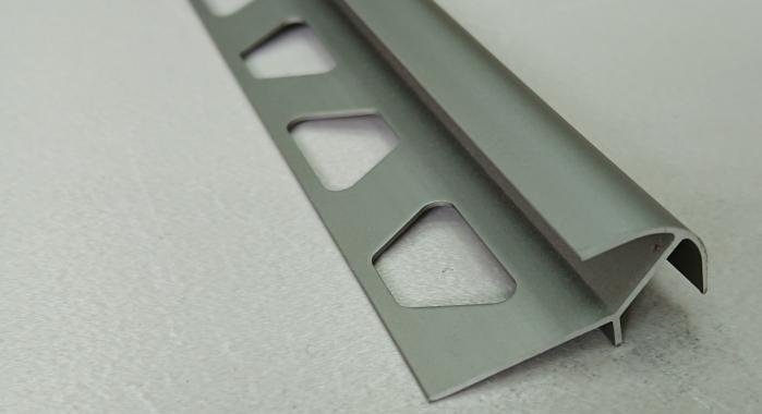 Профиль алюминиевый наружный НAП-12*12 (Шампань матовая)