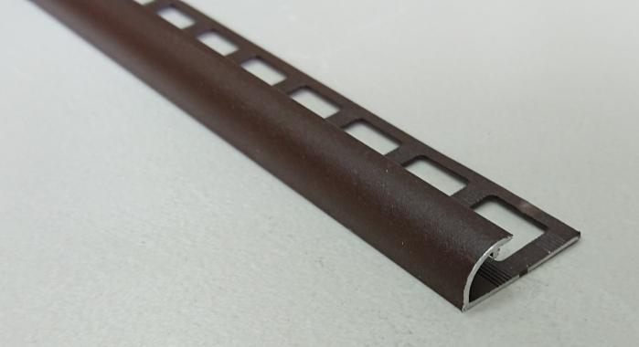 Профиль алюминиевый наружный НAП-10 (Коричневый матовый (эмаль)
