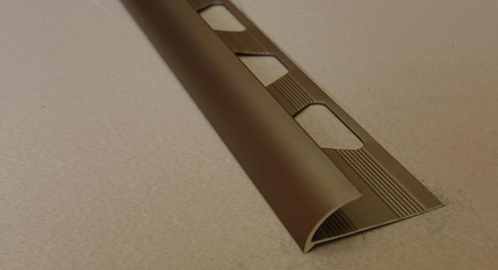 Профиль алюминиевый наружный НAП-8 (Шампань матовая)
