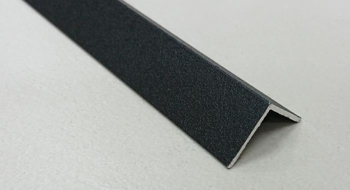Угол алюминиевый ПА-30*30 3м (Черный матовый (эмаль)