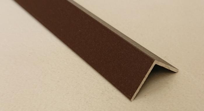 Угол алюминиевый ПА-10*10 3м (Коричневый матовый (эмаль)