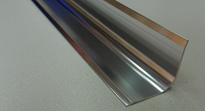 Профиль алюминиевый внутренний ПВ-20*20 (Серебро глянцевое)