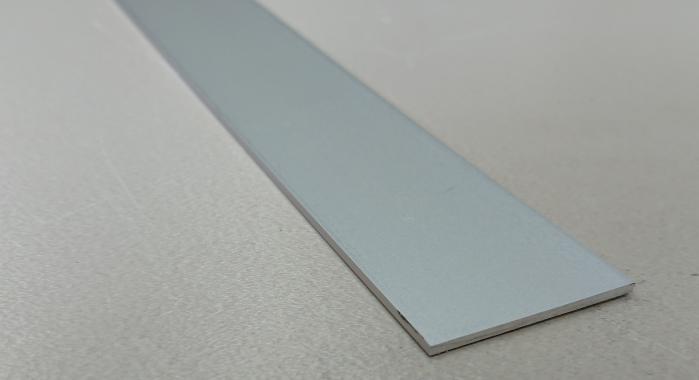 Профиль алюминиевый полоса ПС-30 (Серебро матовое)