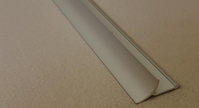 Профиль алюминиевый внутренний ВАП (Серебро матовое)