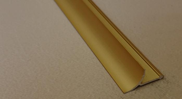 Профиль алюминиевый внутренний ВАП (Золото матовое)