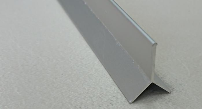 Профиль алюминиевый Y-образный закладной АY-10 (Серебро матовое)